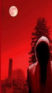 Hooded Man - red